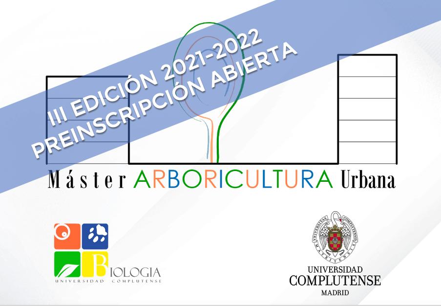 Toda la información sobre la III edición del Máster de Arboricultura y Gestión del Bosque Urbano